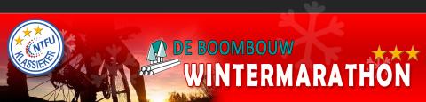 Hoofdsponsor van De Boombouw Wintermarathon